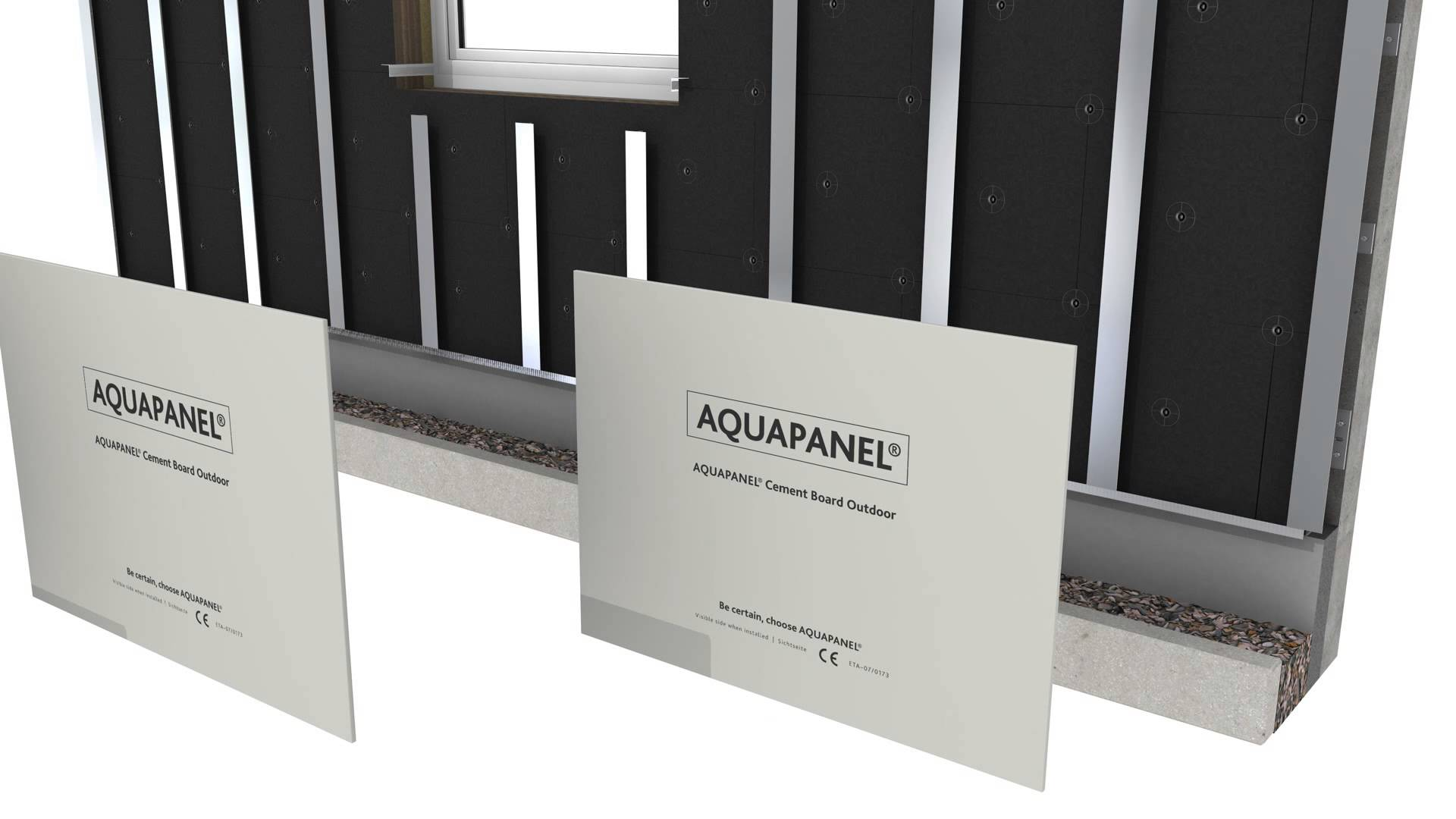 Aquapanel cement board di trade group building materials and